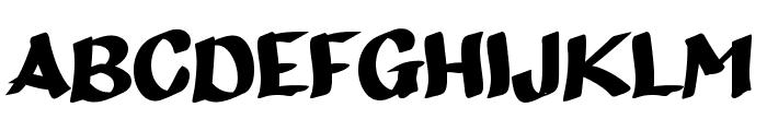 Balik Awan Font UPPERCASE