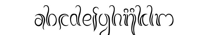 BalineseFamily Font LOWERCASE