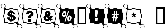 BallTack Font OTHER CHARS