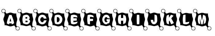 BallTack Font UPPERCASE