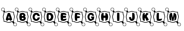 BallTack Font LOWERCASE