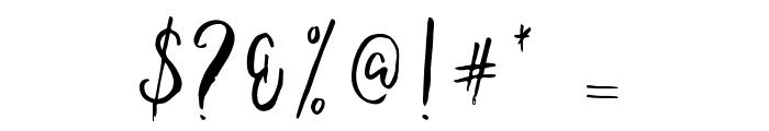 Ballada Font OTHER CHARS