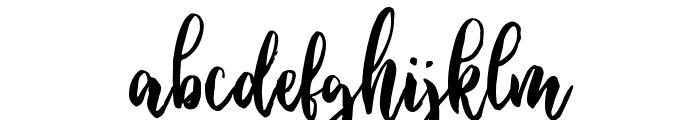 Ballada Font LOWERCASE