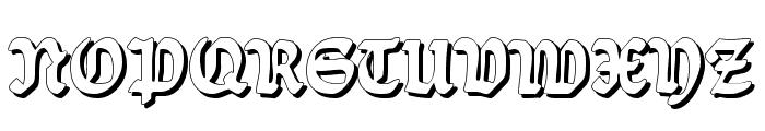 Ballade Shadow Font UPPERCASE