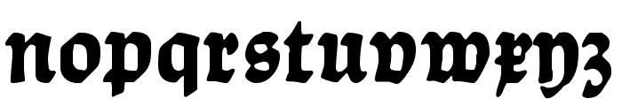 Ballade UNZ1 Bold Font LOWERCASE