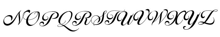 Ballegra Font UPPERCASE