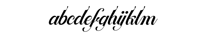 Ballegra Font LOWERCASE