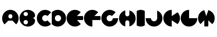 Ballers Normal Font UPPERCASE