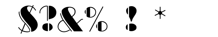 BalletEngraved Font OTHER CHARS