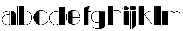 BalletEngraved Font LOWERCASE