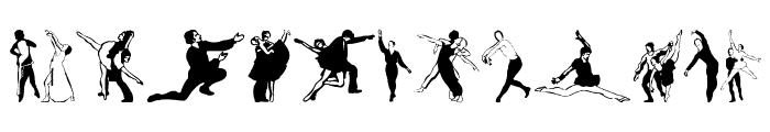 BalletSketches Font UPPERCASE