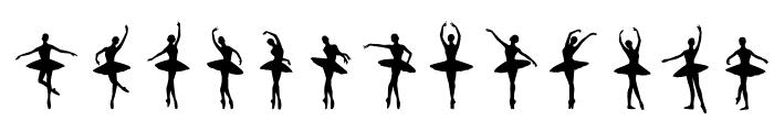 Ballet Font LOWERCASE