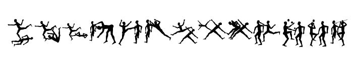 BalletliAbsurdo Font UPPERCASE