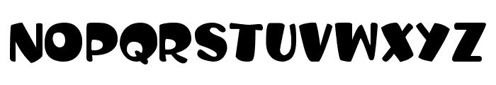 Balloon Craft Font UPPERCASE