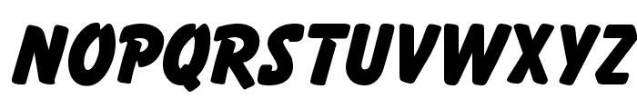 Balloon Extra Bold Regular Font UPPERCASE