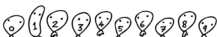 Balloon Friends Font OTHER CHARS