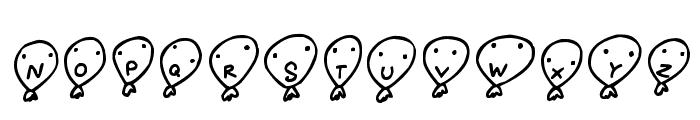 Balloon Friends Font UPPERCASE
