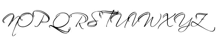 BallroomWaltz Font UPPERCASE