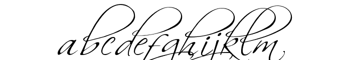 BallroomWaltz Font LOWERCASE
