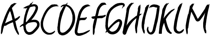 Ballyst Regular Font UPPERCASE