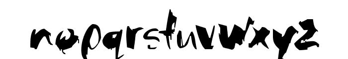 Baloney Font LOWERCASE