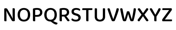 Baloo 2 Medium Font UPPERCASE