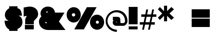 Baltar-Regular Font OTHER CHARS
