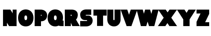 Baltar-Regular Font UPPERCASE