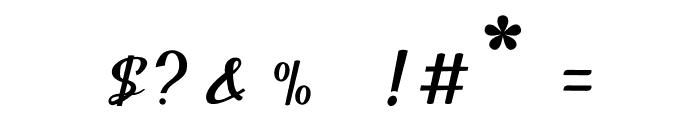 Balutteli Font OTHER CHARS