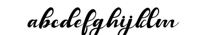 Balutteli Font LOWERCASE
