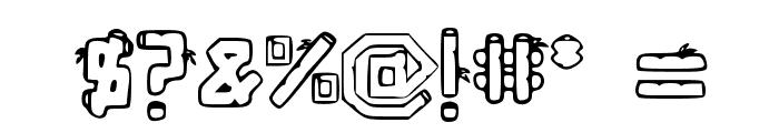 BambuC Font OTHER CHARS