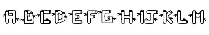 BambuC Font UPPERCASE