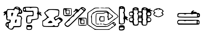 BambuCB Font OTHER CHARS