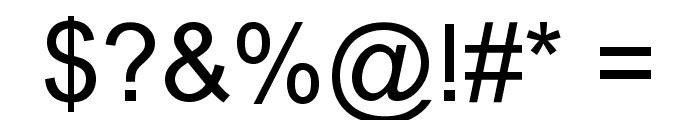 Bambuchinnox Font OTHER CHARS