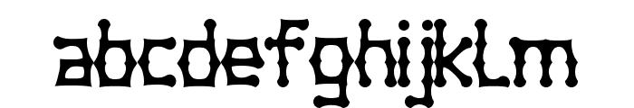 Bambuchinnox Font LOWERCASE