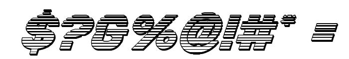Bamf Chrome Italic Font OTHER CHARS