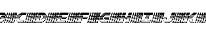 Bamf Chrome Italic Font UPPERCASE