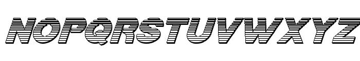 Bamf Chrome Italic Font LOWERCASE