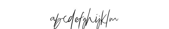 Bammantoe Font LOWERCASE