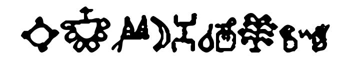 Bamum Symbols 1 Font OTHER CHARS