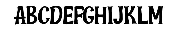 Bana Chips Free Font UPPERCASE
