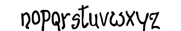 Banana Show Medium Font LOWERCASE