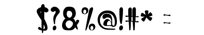Banana Split Font OTHER CHARS