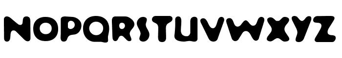 Banana Sundae  Bold Font UPPERCASE