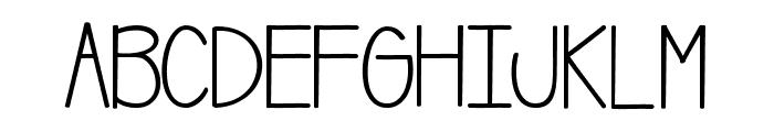 BananaChipMuffins Font UPPERCASE