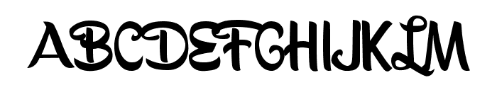 BananasPersonalUse Font UPPERCASE