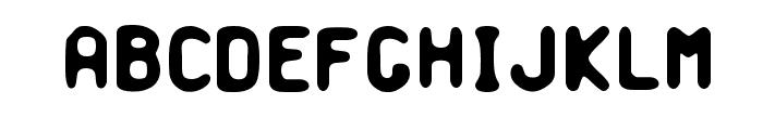Banausia Font UPPERCASE