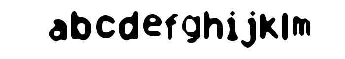 Banausia Font LOWERCASE