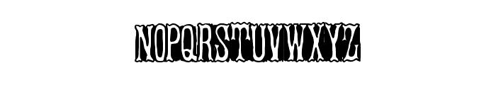 BandStand Font UPPERCASE