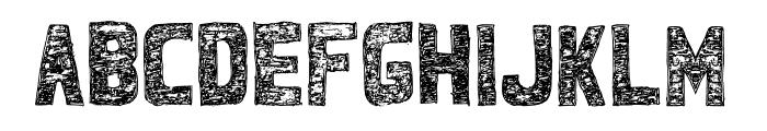 BandhemWatu Font UPPERCASE